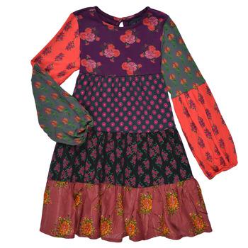 Kleidung Mädchen Kurze Kleider Desigual CELIA Multicolor