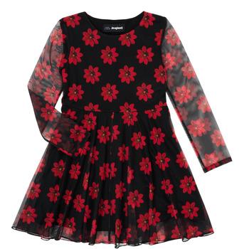 Kleidung Mädchen Kurze Kleider Desigual ALICIA Multicolor