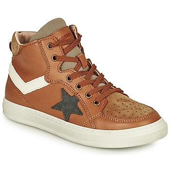 Schuhe Jungen Sneaker High Bisgaard ISAK Cognac
