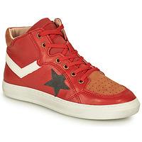 Schuhe Jungen Sneaker High Bisgaard ISAK Rot