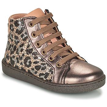 Schuhe Mädchen Sneaker High Bisgaard GAIA Leopard / Gold