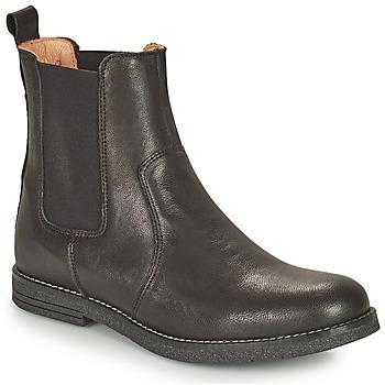 Schuhe Mädchen Boots Bisgaard NANNA Schwarz