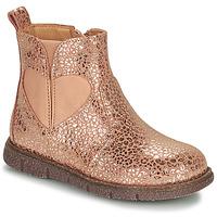 Schuhe Mädchen Boots Bisgaard MELODY Rose / Gold