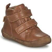 Schuhe Jungen Sneaker High Bisgaard DEE Cognac
