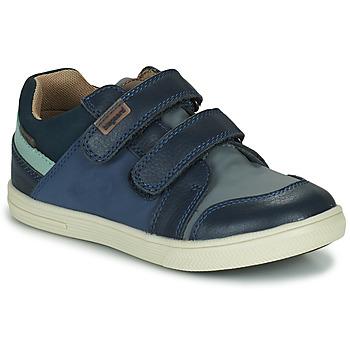 Schuhe Jungen Sneaker Low Bisgaard LEVI TEX Marine