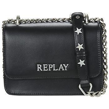Taschen Damen Umhängetaschen Replay FW3001 Schwarz