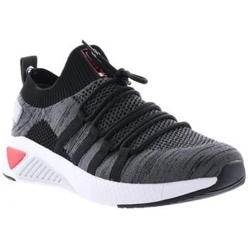 Schuhe Damen Sneaker Low Big Star HH274532 Schwarz, Grau