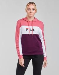 Kleidung Damen Sweatshirts Fila AQILA HOODY Rose / Weiss / Violett