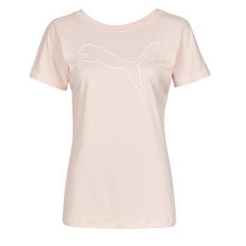 Kleidung Damen T-Shirts Puma TRAIN FAVORITE JERSEY CAT TEE Rose