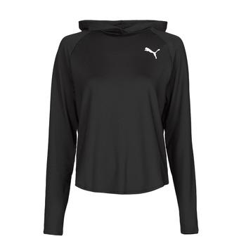 Kleidung Damen Sweatshirts Puma ACTIVE HOODIE Schwarz