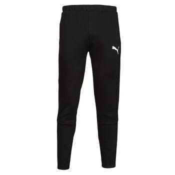 Kleidung Herren Jogginghosen Puma EVOSTRIPE CORE FZ PANT Schwarz