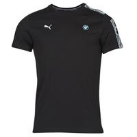 Kleidung Herren T-Shirts Puma BMW MMS T7 TEE Schwarz