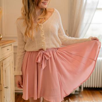 Kleidung Damen Röcke Céleste EGLANTINE Rose