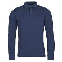 Kleidung Herren Langärmelige Polohemden Hackett HM550879 Blau