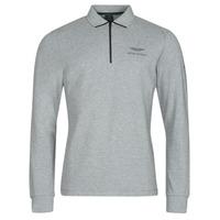 Kleidung Herren Langärmelige Polohemden Hackett HM550878 Grau