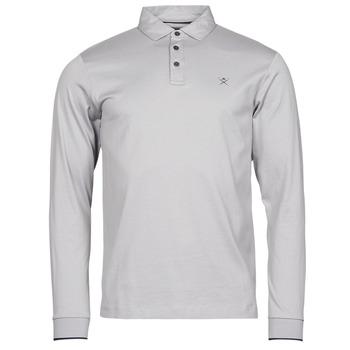 Kleidung Herren Langärmelige Polohemden Hackett HM550880 Grau
