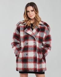 Kleidung Damen Mäntel Kaporal FEO Beige / Rot