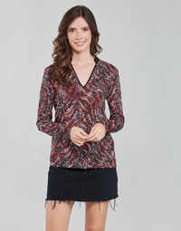 Kleidung Damen Tops / Blusen One Step FT10191 Rot / Multicolor