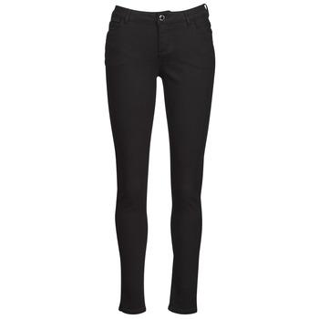 Kleidung Damen 5-Pocket-Hosen Morgan PETRA Schwarz