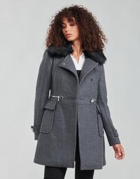 Kleidung Damen Mäntel Morgan GKATHY Grau / Anthrazit