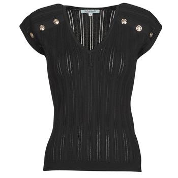Kleidung Damen Tops / Blusen Morgan MDIDO Schwarz