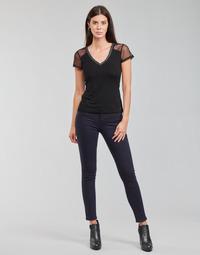 Kleidung Damen 5-Pocket-Hosen Morgan PETRA Marine