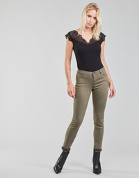 Kleidung Damen 5-Pocket-Hosen Morgan PETRA Kaki