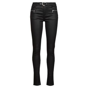 Kleidung Damen 5-Pocket-Hosen Morgan PBIKER Schwarz