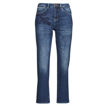 Kleidung Damen Straight Leg Jeans Freeman T.Porter MONIKA SDM Blau