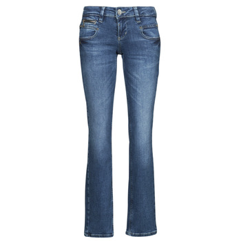 Kleidung Damen Straight Leg Jeans Freeman T.Porter ALEXA STRAIGHT SDM Blau