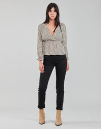 Kleidung Damen Straight Leg Jeans Freeman T.Porter ALEXA STRAIGHT S-SDM Schwarz