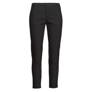 Kleidung Damen 5-Pocket-Hosen Freeman T.Porter CLAUDIA POLYNEO Schwarz