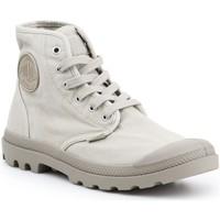 Schuhe Herren Sneaker High Palladium Manufacture Pampa HI 02352-316 beige
