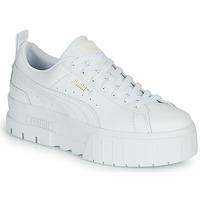 Schuhe Damen Sneaker Low Puma MAYZE Weiss