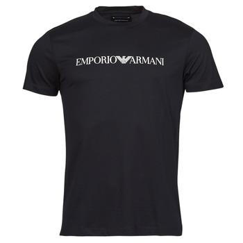 Kleidung Herren T-Shirts Emporio Armani 8N1TN5 Schwarz