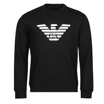 Kleidung Herren Sweatshirts Emporio Armani 8N1MR6 Schwarz
