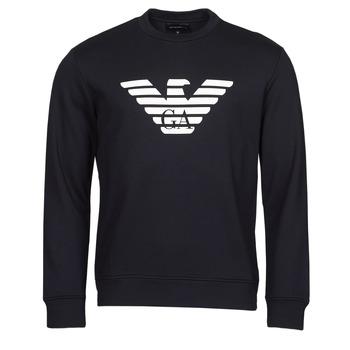 Kleidung Herren Sweatshirts Emporio Armani 8N1MR6 Marine