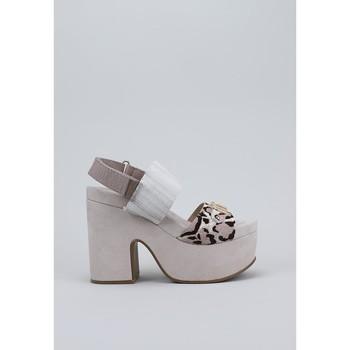 Schuhe Damen Sandalen / Sandaletten Mou  Grau
