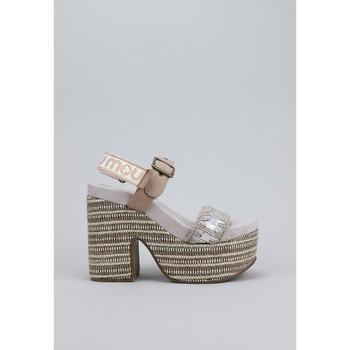 Schuhe Damen Sandalen / Sandaletten Mou  Braun