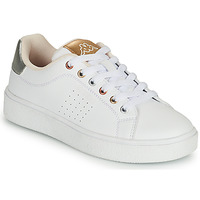Schuhe Mädchen Sneaker Low Kappa SAN REMO Weiss / Gold / Silbern