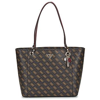 Taschen Damen Shopper / Einkaufstasche Guess NOELLE ELITE TOTE Braun