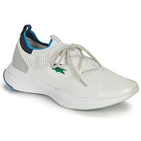 Schuhe Herren Sneaker Low Lacoste RUN SPIN KNIT 0121 1 SMA Weiss / Blau