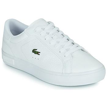 Schuhe Damen Sneaker Low Lacoste POWERCOURT 0721 2 SFA Weiss