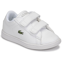 Schuhe Kinder Sneaker Low Lacoste CARNABY EVO BL 21 1 SUI Weiss