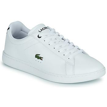 Schuhe Herren Sneaker Low Lacoste CARNABY BL21 1 SMA Weiss