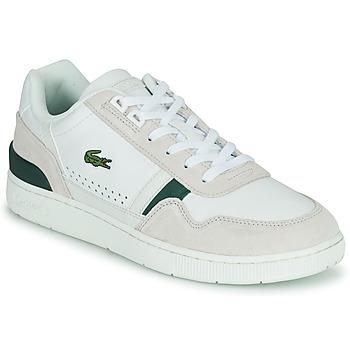 Schuhe Herren Sneaker Low Lacoste T-CLIP 0120 3 SMA Weiss / Beige