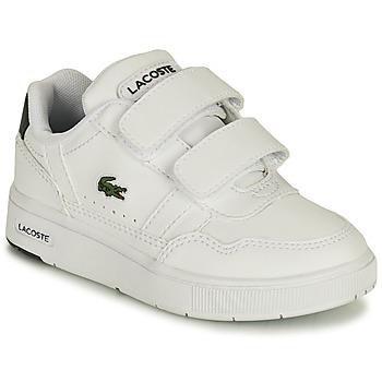 Schuhe Kinder Sneaker Low Lacoste T-CLIP 0121 1 SUI Weiss