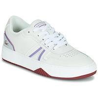 Schuhe Damen Sneaker Low Lacoste L001 0321 1 SFA Weiss / Violett