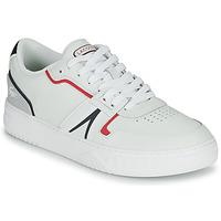 Schuhe Herren Sneaker Low Lacoste L001 0321 1 SMA Weiss / Rot / Blau