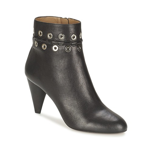 Sonia Rykiel MINI ŒILLETS Schwarz  Schuhe Ankle Boots Damen 391,20